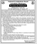 Re-Notice for Enlistment 2077 Chaitra 26 gate