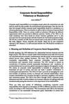 Corporate Social Responsibility: Voluntary or Mandatory? / Adhikari, Arjun in NJA Law Journal (v.8 : 1 Jan to Dec 2014)